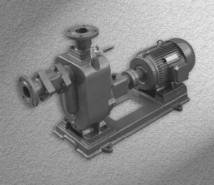 ZW type horizontal self priming seweage pump