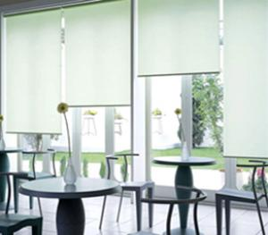manual & motorized sunshade roller blinds