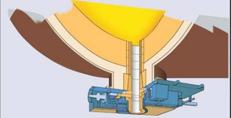 Converter Tap Hole Stopping-Slag Slide Plate