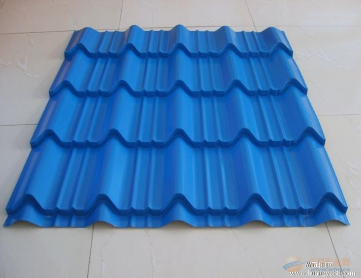 Pre-Painted  Galvanized Corrugated Steel---Royal Blue