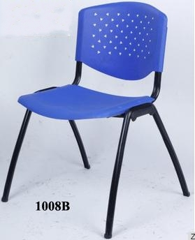 Cheap Plastic Office Training Chair/ silla plastica para oficina 1008B