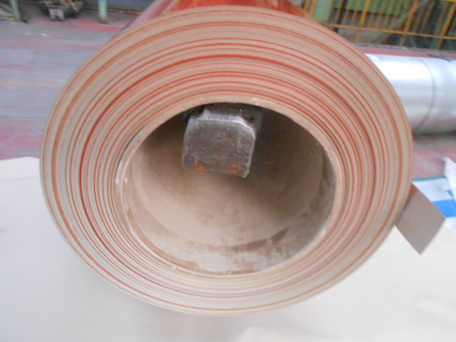 Pre-Painted Galvanized/Aluzinc Steel Sheet in Coil Brick Red 0.25mm