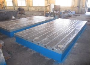 Cast Iron T Slot Floor Plate