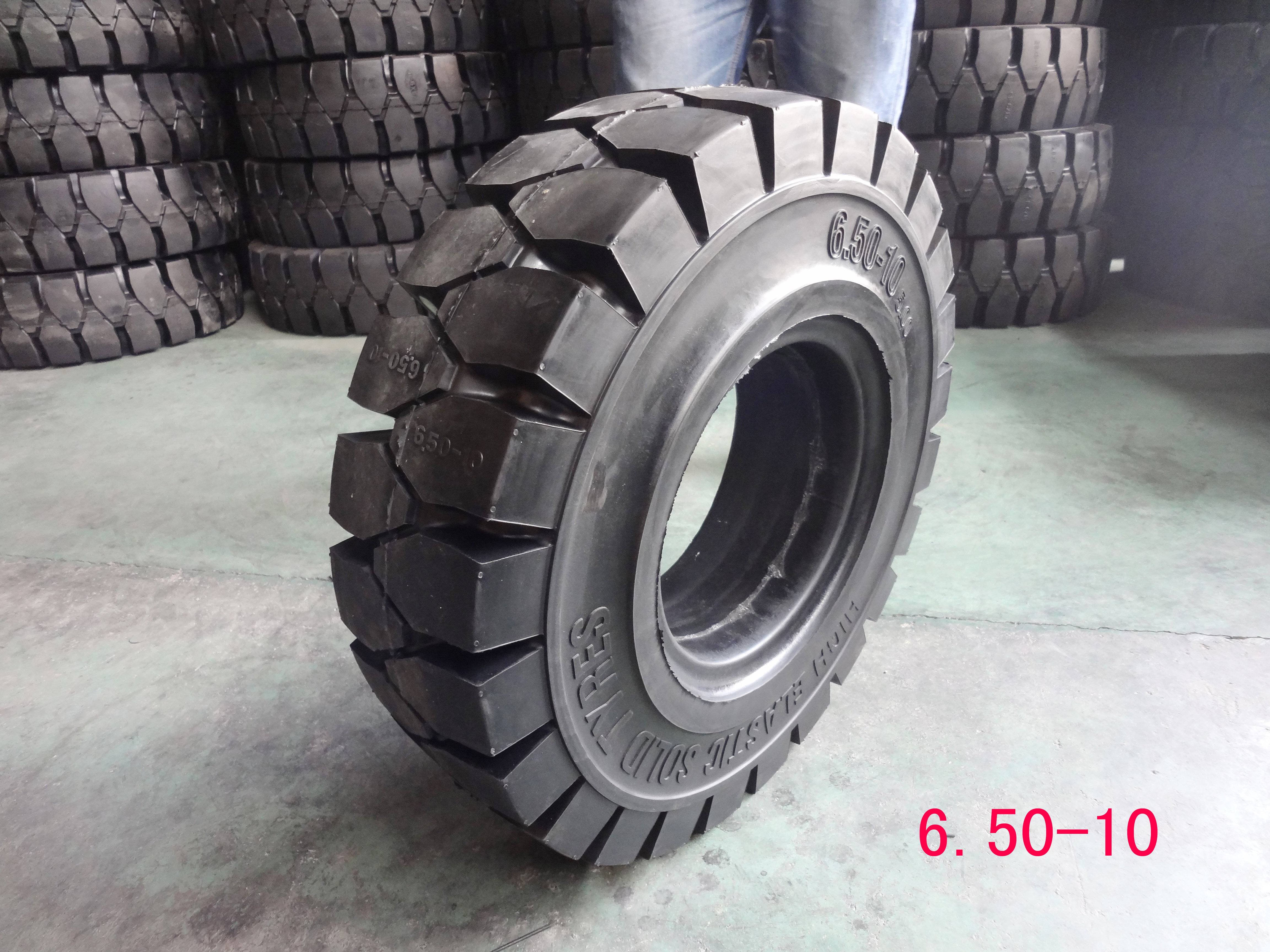Forklift Solid Tyre--650-10