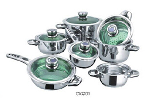 Stainless steel cookware set1