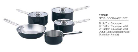 304 201 stainless steel cookware2