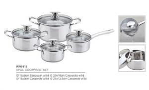 304 201 stainless steel cookware5