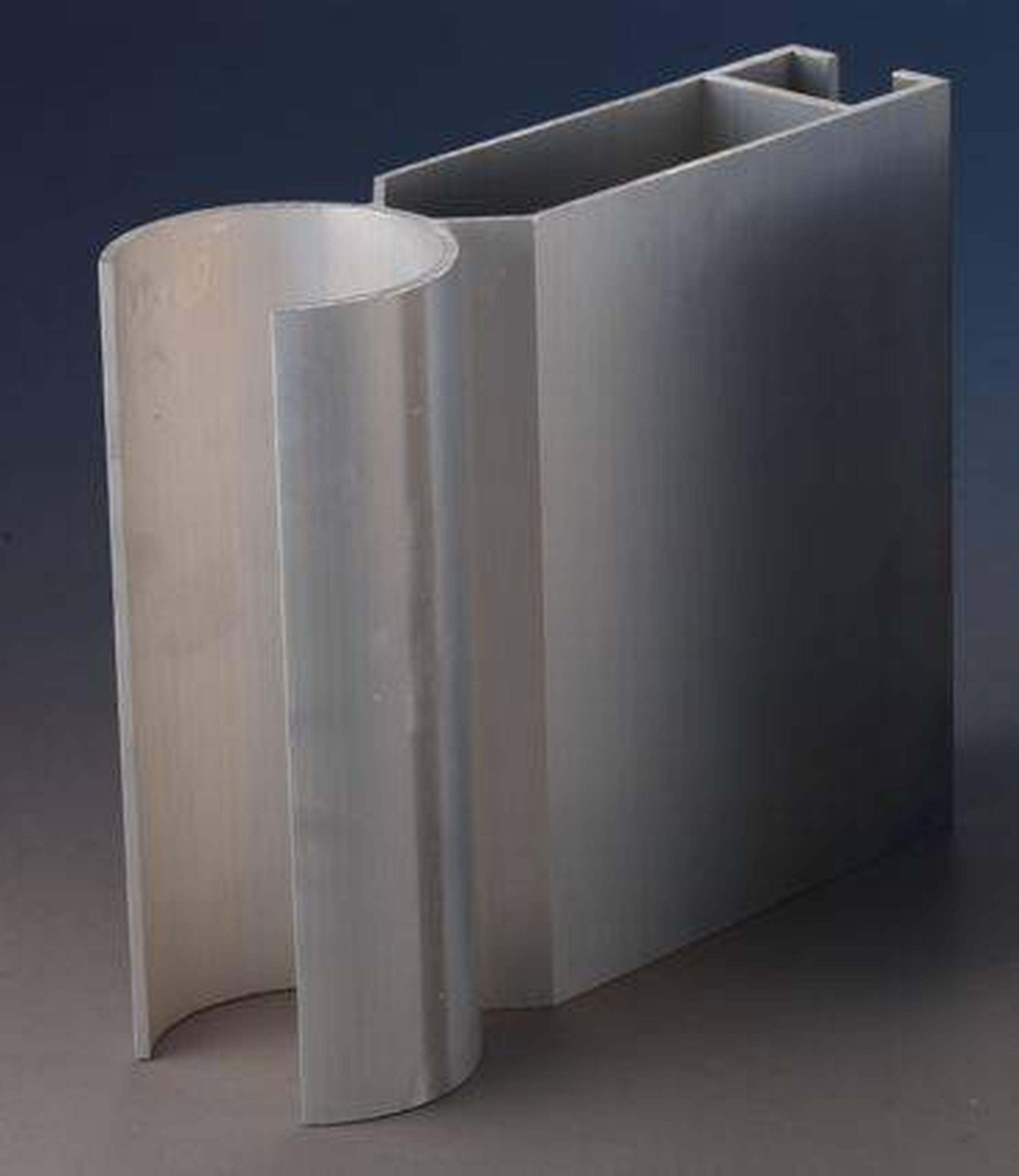 Aluminium Alloy Curtain Wall Corner Profile