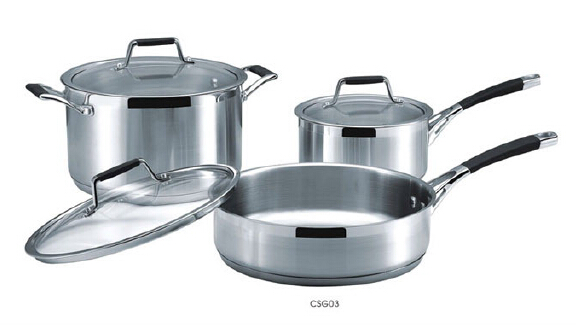 Stainless steel cookware set16