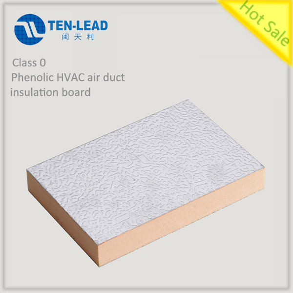 Phenolic HVAC air duct inslulation board