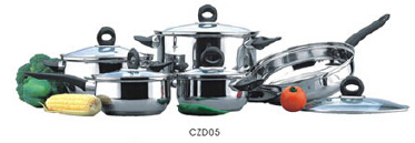 Stainless steel cookware set2