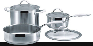 Stainless steel cookware set12