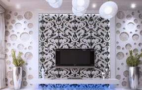 Shell Mosaic Wall Stickers