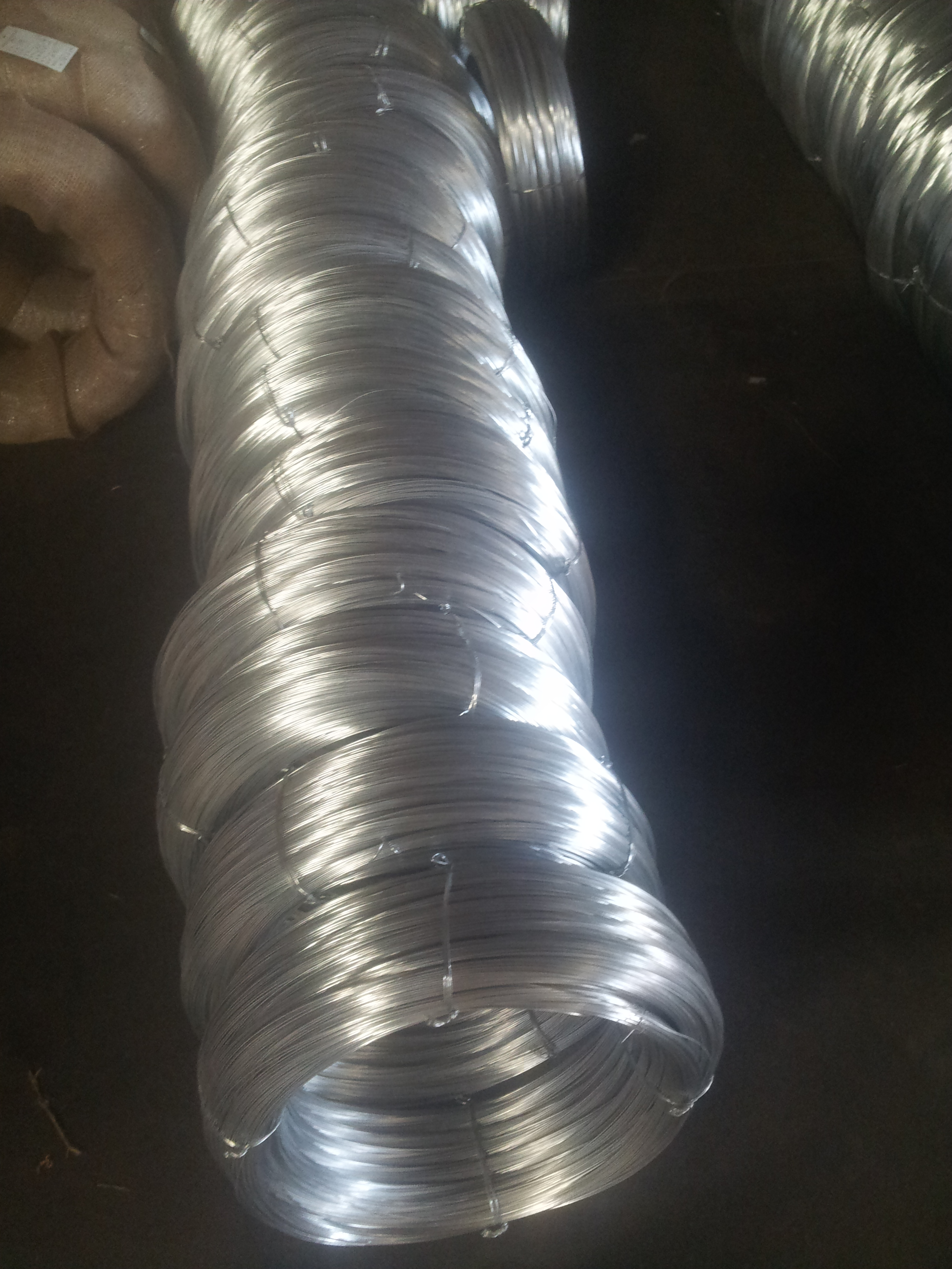 Lightly Galvanized Steel Wire