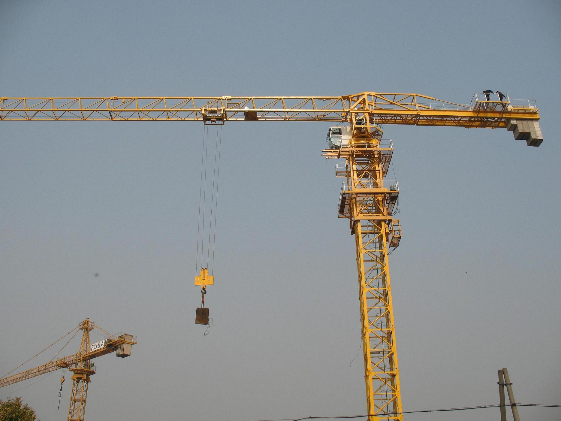 TCP5510 Topless Tower Crane