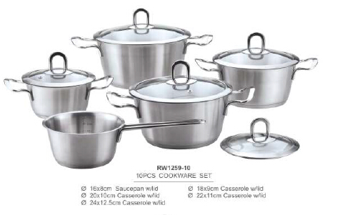 304 201 stainless steel cookware7