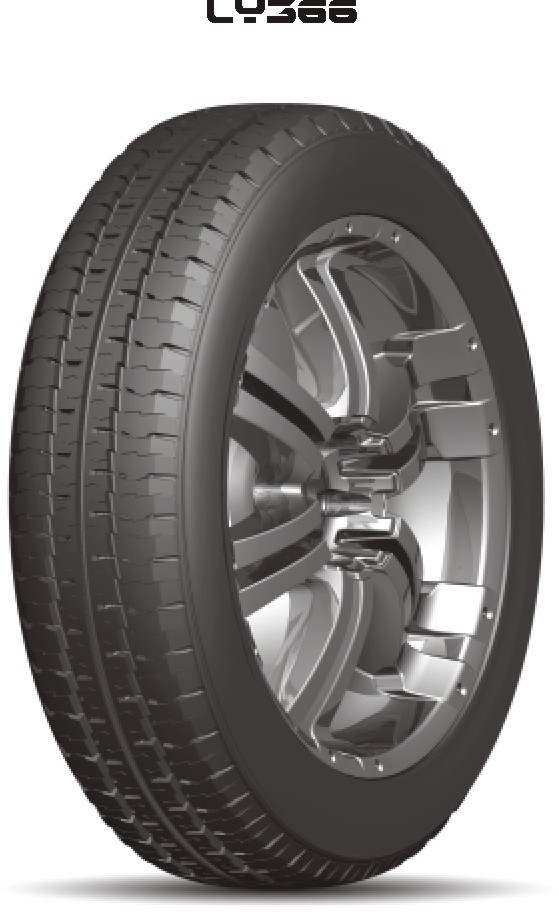 Light Truck an Bus Radial Tyre 185R14C LY366