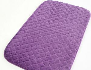 super soft floor carpet and mat soft Bath mats with anti-slip base