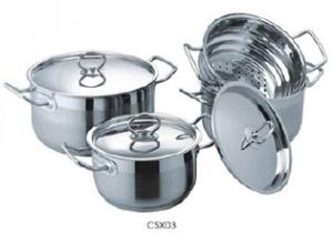 Stainless steel cookware set10