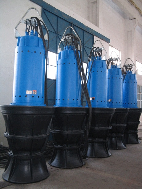 QZB series Submersible Axial/Mixed Flow Pump