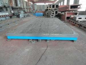 Cast Iron T Slot Floor Plate
