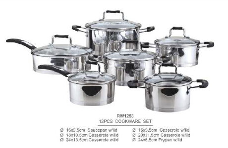 304 201 stainless steel cookware8