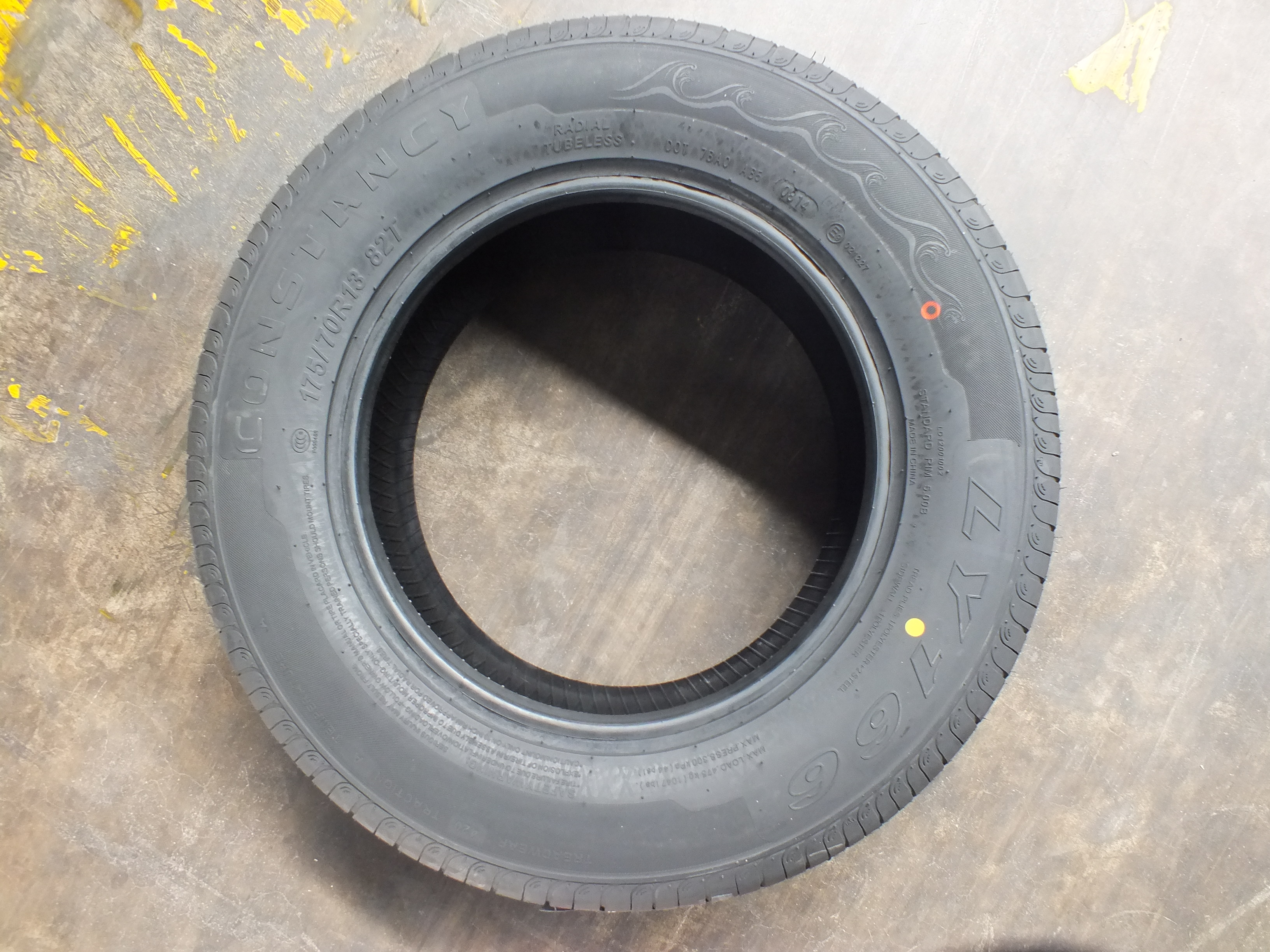 Passager Car Radial Tyre 175/70R13 LY166