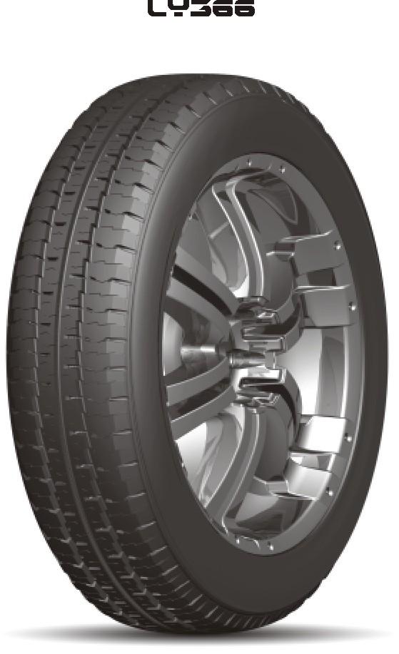 Light Bus Radial Tyre 205R14C LY366