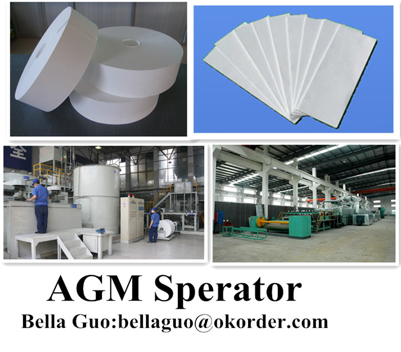 AGM Separator Customized Size for All Demand