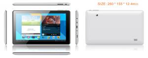 "10.1"" MTK8127 1024*600 TN panel 1GB/8GB GPS/BT/WIFI all in one tablet PC"