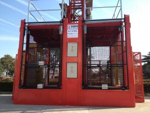 SC200/200A Double Cage Construction Hoist