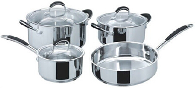 Stainless steel cookware set15