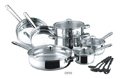 Stainless steel cookware set5