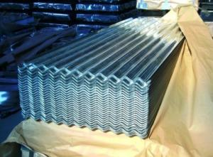 Galvanized Corrugated Steel Sheet  in High Quality