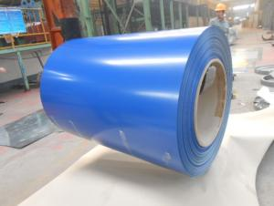 Pre-Painted Galvanized/Aluzinc Steel Sheet in Coil Royal Blue 0.25mm