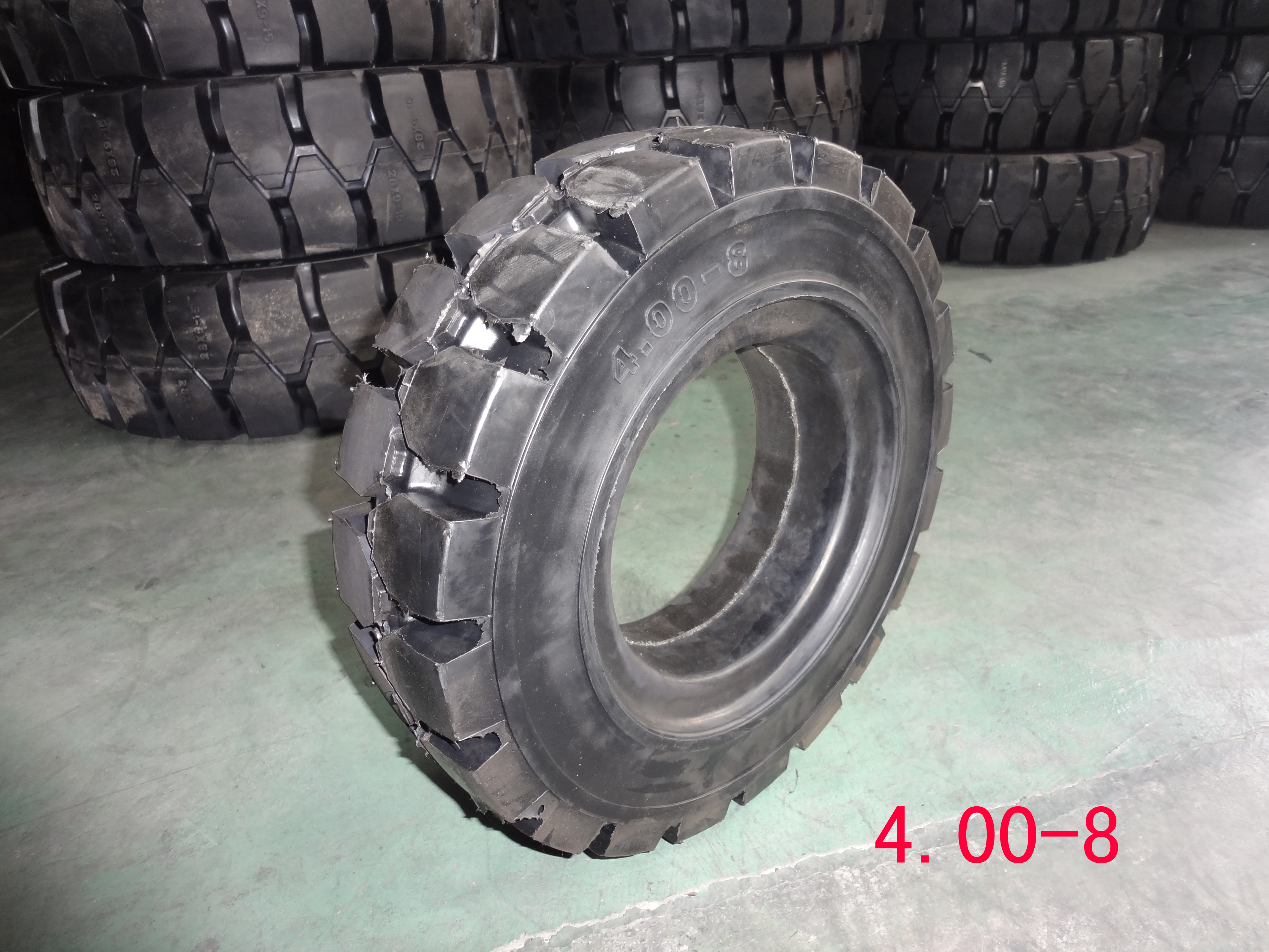 400-8 Size For Forklift Solid Tyre