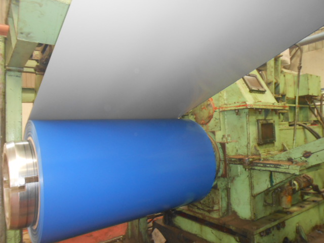 Pre-Painted Galvanized/Aluzinc Steel Coil Royal Blue 0.29mm