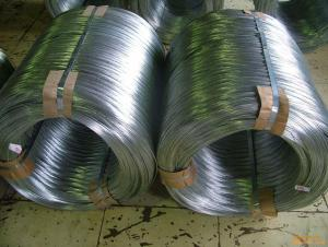 Low carbon galvanized steel wire