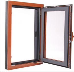Wood Grain Color Aluminum Frame Thermal-break aluminum window and door