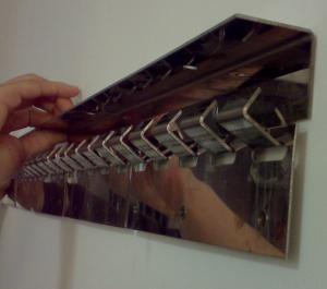 hanger for pvc strip curtain