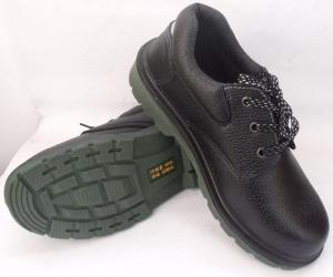 Safety Shoe New Leather High Heel Steel Toe