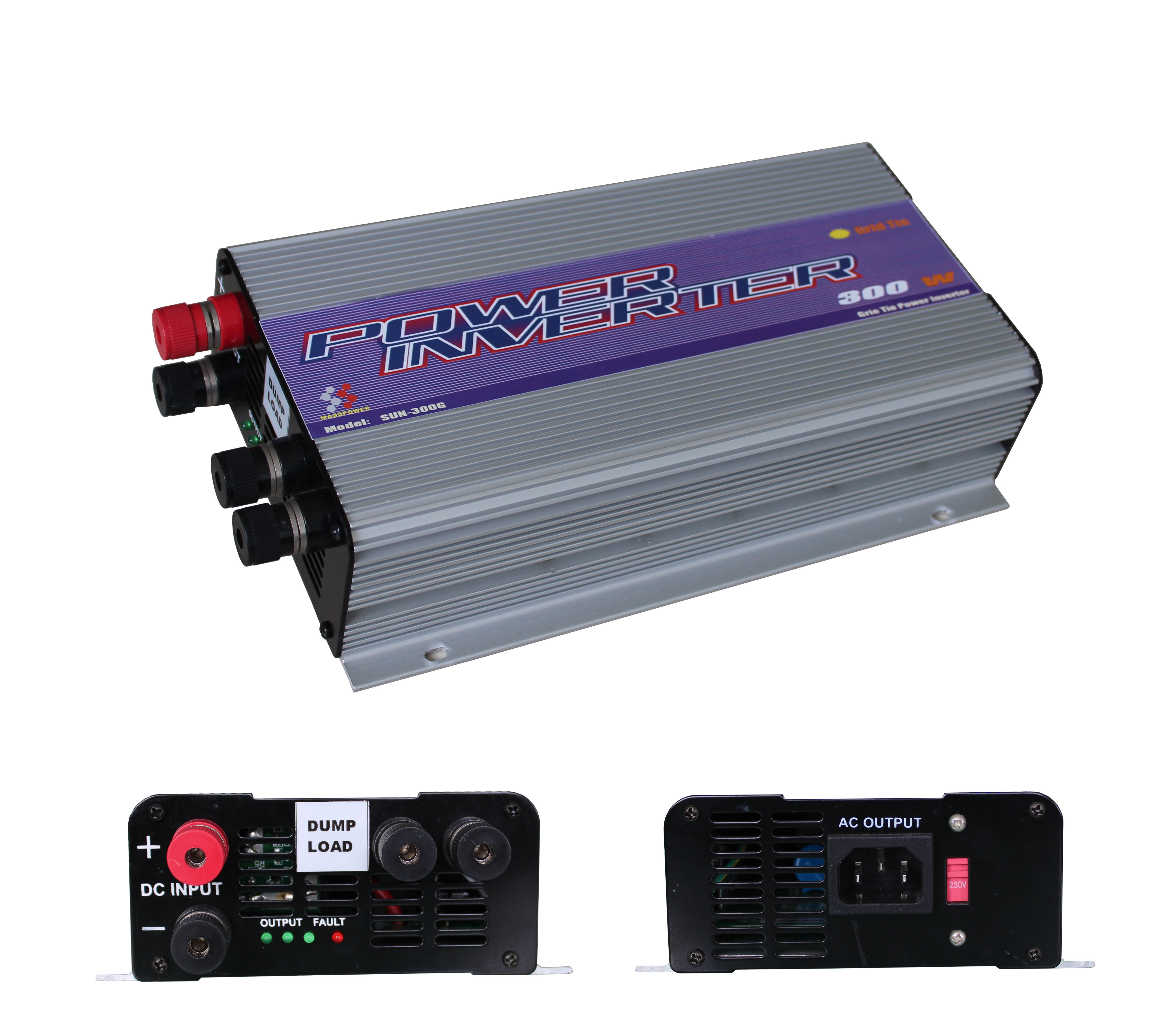 SUN-300G-WDL Wind power grid tie inverter/300w
