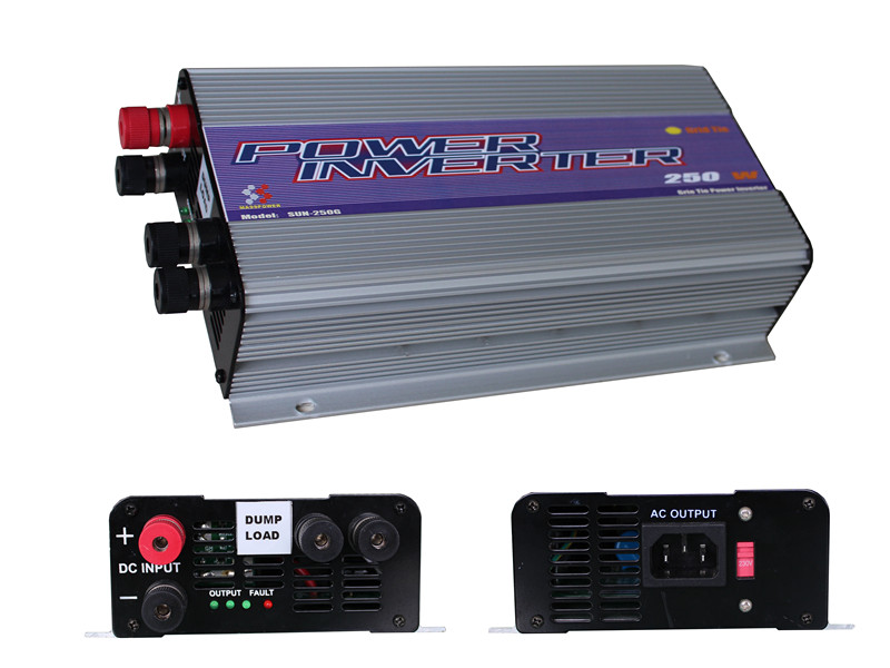 SUN-250G-WDL Wind power grid tie inverter/250w