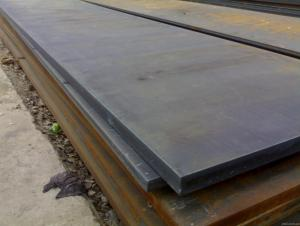 High grade hot rolled plate