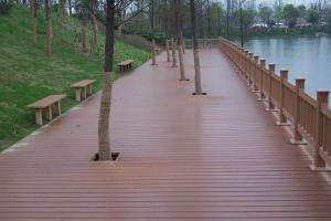 New Friendly environmental and water proof wpc outdoor decking