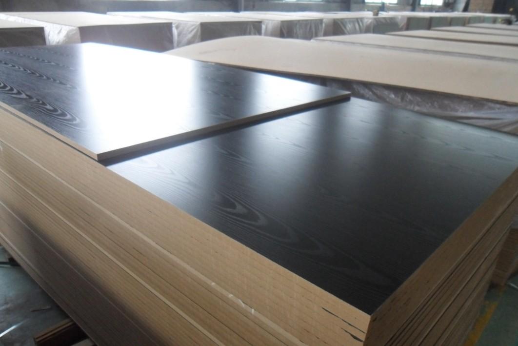Ash Wood Grain Embossed Surface Melamine MDF Board