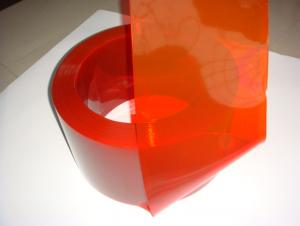 red welding pvc strip