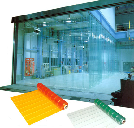PVC Strip Doors of Different Colors