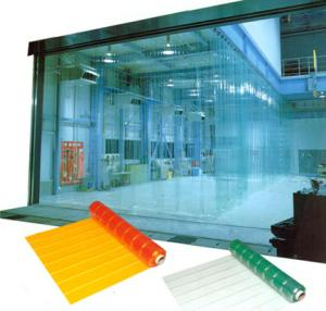PVC Strip Doors of Different Colors
