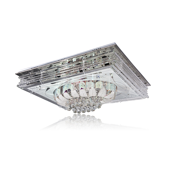 LVD induction lamp crystal chandelier light 02-102